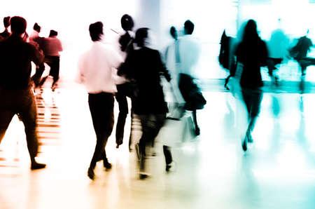Stadt Geschäftsleute abstrakt blur motion Standard-Bild - 11728295
