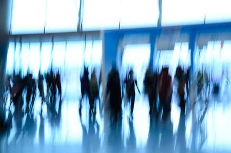 Stadt Geschäftsleute abstrakt blur motion Standard-Bild - 11730115