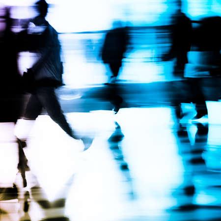 Stadt Geschäftsleute abstrakt blur motion Standard-Bild - 11728238
