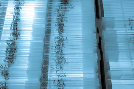 medical biological science equipment background glass microscope slide photo