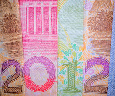 Chinese bank note new year 2012 financial background Stock Photo - 11730210