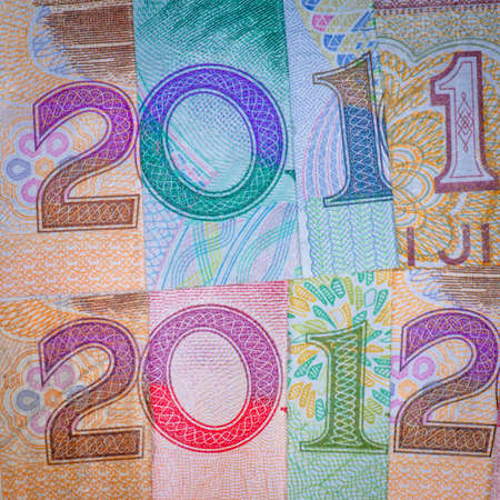 Chinese bank note money RMB new year 2012 financial background photo