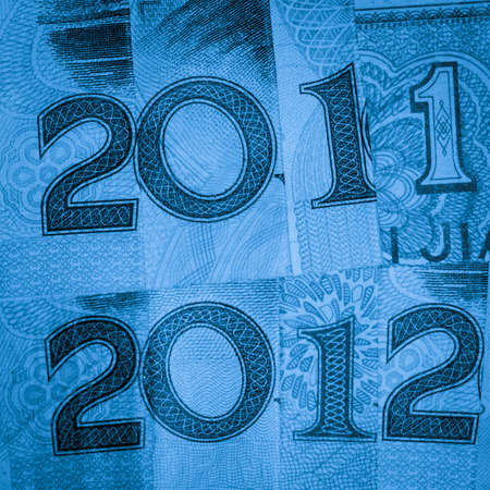 Chinese bank note money RMB new year 2012 financial background Stock Photo - 11730395