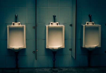 latrina: maschio bagno pubblico Archivio Fotografico