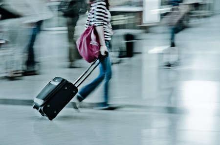 Gehen Stadt Passagier Unschärfe Bewegung Standard-Bild - 11911272