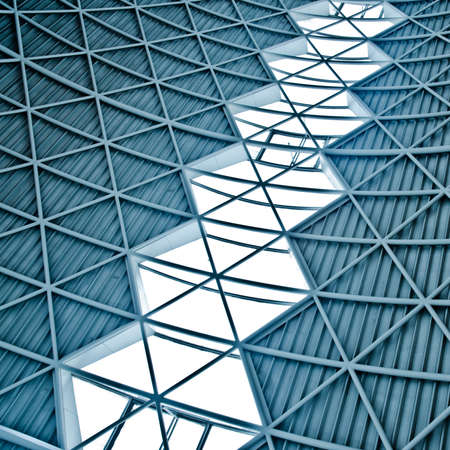 modern city architecture ceiling detail Stock Photo - 11911354