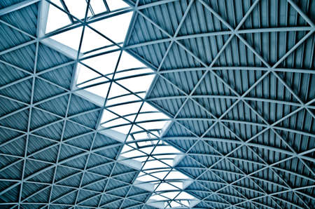 modern city architecture ceiling detail