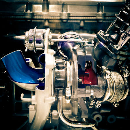 modern industry auto car engine Stock Photo - 11957659
