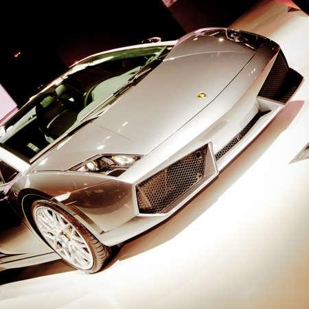 GUANGZHOU, CHINA - Nov 26: Lamborghini Gallardo LP 560-4 Noctis sport car on display at the 9th China international automobile exhibition. on November 26, 2011 in Guangzhou China. Stock Photo - 13226128
