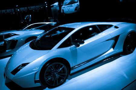 superleggera: GUANGZHOU, CHINA - Nov 26: Lamborghini Gallardo LP 570-4 Superleggera sport car on display at the 9th China international automobile exhibition. on November 26, 2011 in Guangzhou China. Editorial