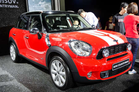 GUANGZHOU, CHINA - Nov 26: Mini Countryman car on display at the 9th China international automobile exhibition. on November 26, 2011 in Guangzhou China. Stock Photo - 13225991