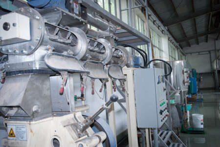 agriculture industry feed produce expanded pellet diet machine photo