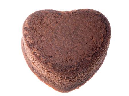 heart shaped chocolate cake sweet food photo