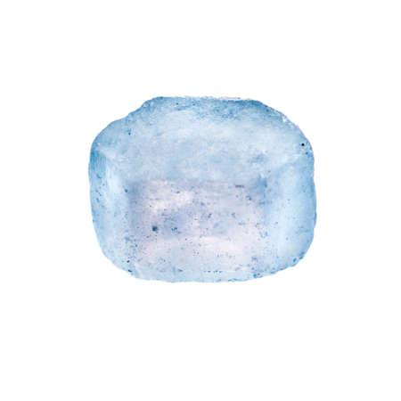 sugar crystal. rock candy macro. photo
