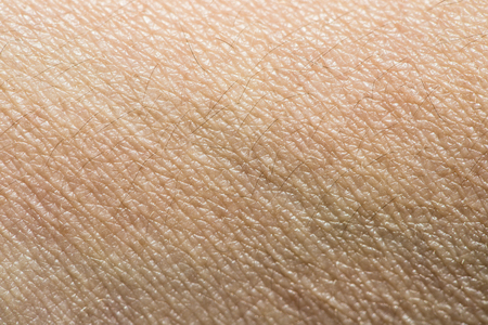 Human skin close up background