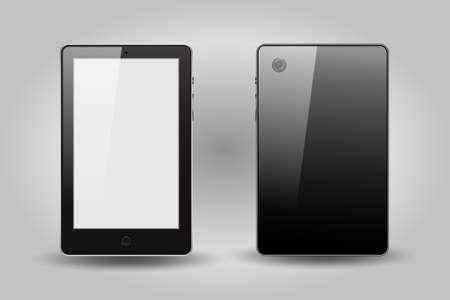 device: blank tablet device