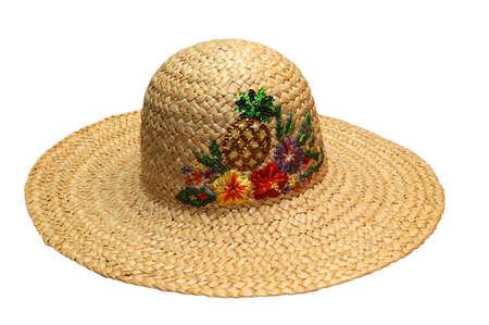 太陽の帽子 写真素材