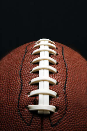 American Football - Laces Stock Photo - 513145
