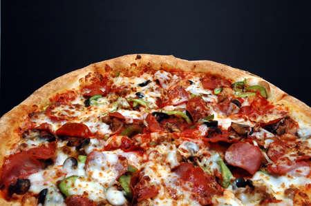 Pizza with Everything Zdjęcie Seryjne