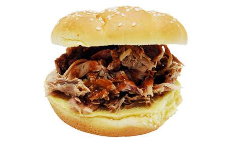 バーベキュー サンドイッチ