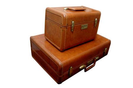 Vintage Luggage Zdjęcie Seryjne