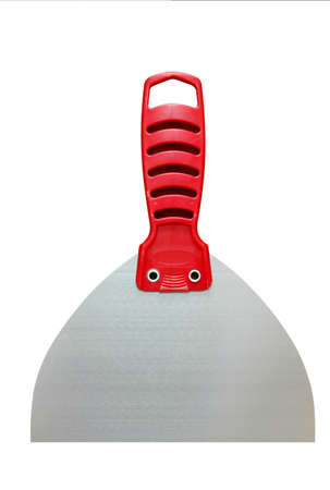putty knives: Putty knife with clipping path Stock Photo
