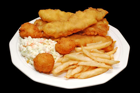bagre: Fish and chips