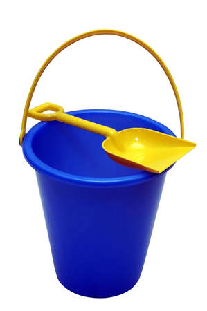 Sand Pail - clipping path