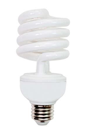 電球型蛍光灯 写真素材