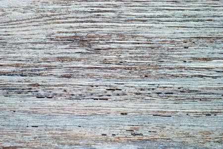 Sectie witgekalkte van oude hout voor achtergrond gebruik. Stockfoto