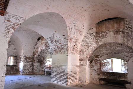 archways: Archways at Fort Pulaski, Georgia