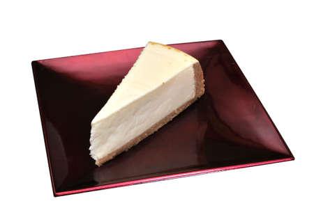 プレーン チーズ ケーキ 写真素材