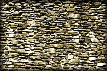 Brown grunge brick wall for background. Stock Photo - 9439240