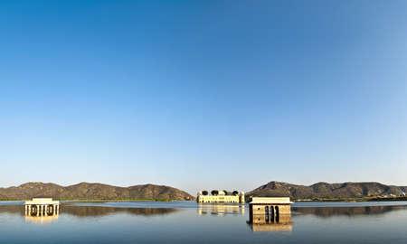 LAKE INDIA Stock Photo
