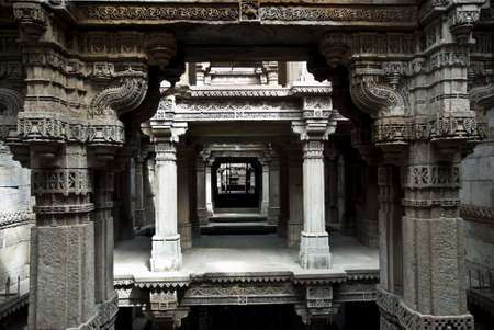 Adalaj wav Stock Photo