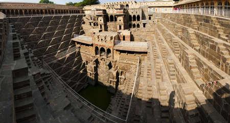 chand: Abhaneri, Chand Bawri, Step Well  Jaipur