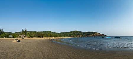 Om beach Stock Photo