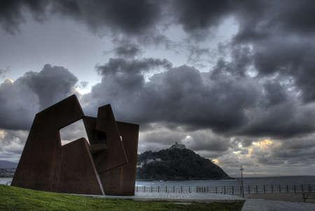 escultura oteiza Stock Photo