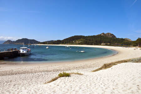 islas cies Stock Photo