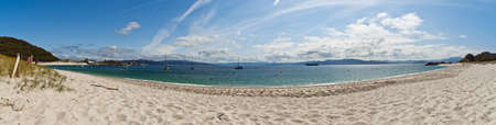 islas cies Stock Photo