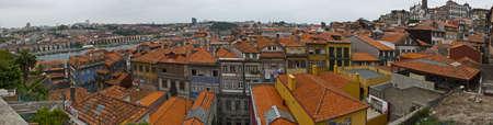 oporto: panoramica sobre oporto Stock Photo