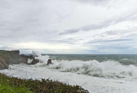 cantabria: costa de cantabria Stock Photo