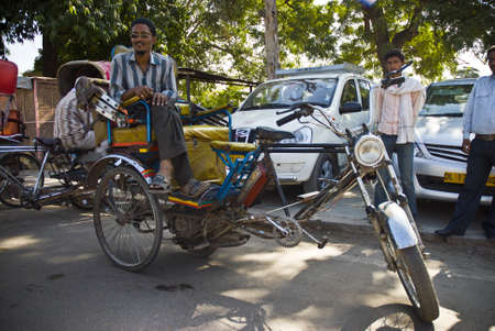 taxista en jaipur Stock Photo - 13421825