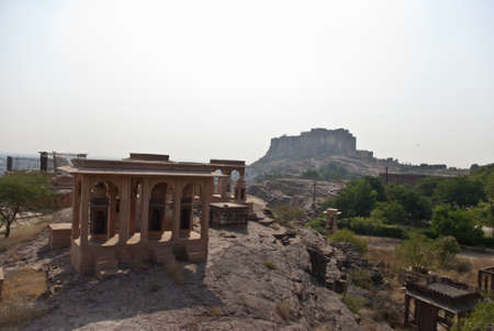 vistas: Vistas del fuerte de Jodhpur