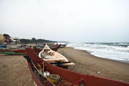 mamallapuram: playa de mamallapuram