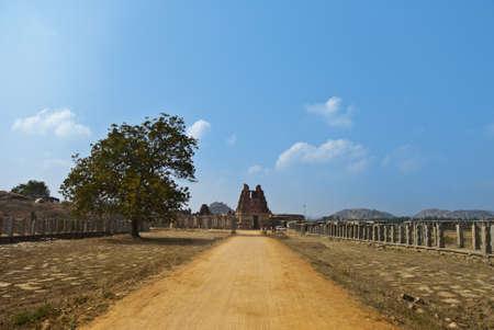 Vittala temple, hampi, karnataka Stock Photo