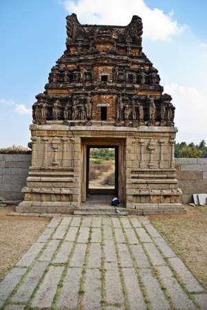 karnataka: Vittala templo, Hampi, Karnataka Foto de archivo