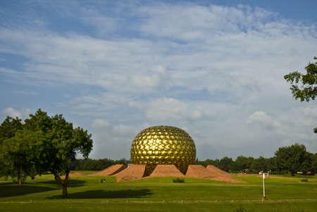 Aurooville bola gigante Stock Photo