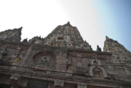 bodhgaya: Templo en Bodhgaya