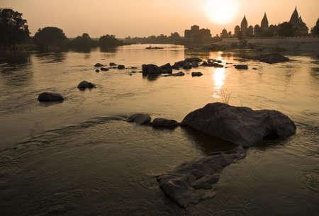 madhya pradesh: Landscape in Orchha